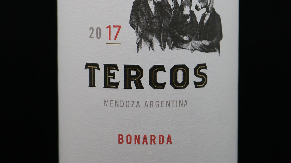Tercos, Bonarda, Mendoza, 2017
