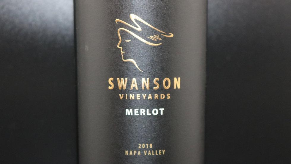 Swanson Vineyards, Merlot, Napa Valley, 2018
