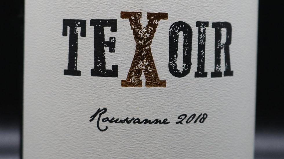 Texoir, Roussanne, Texas High Plains, 2018
