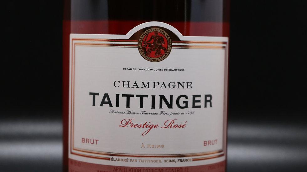 Champagne Taittinger, Prestige Rose' Brut, Reims France NV