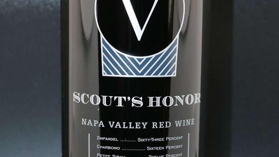 Venge Vineyards, Scout's Honor Red Blend, Napa Valley, 2018