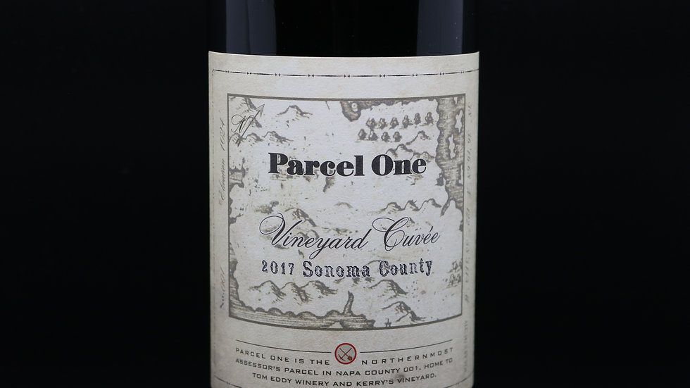 Tom Eddy, Parcel One Red Blend, Sonoma County, 2017