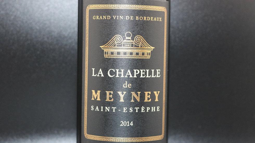 La Chapelle, Meyney Saint-Estephe, France, 2014