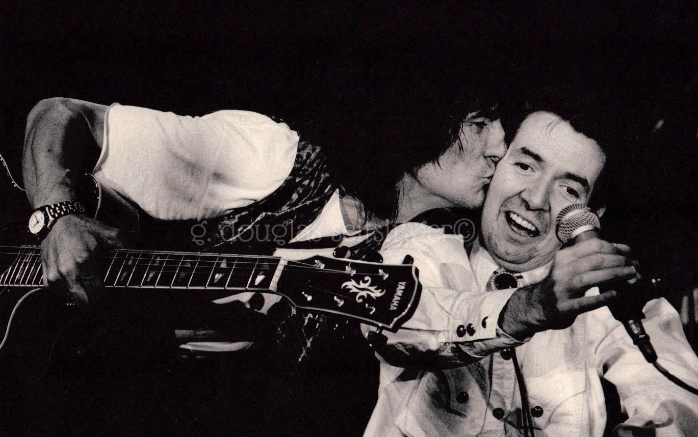 Ronnie Wood & Ronnie Lane_Austin '91