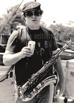 Bobby Keys_Carl's Corner, TX '87