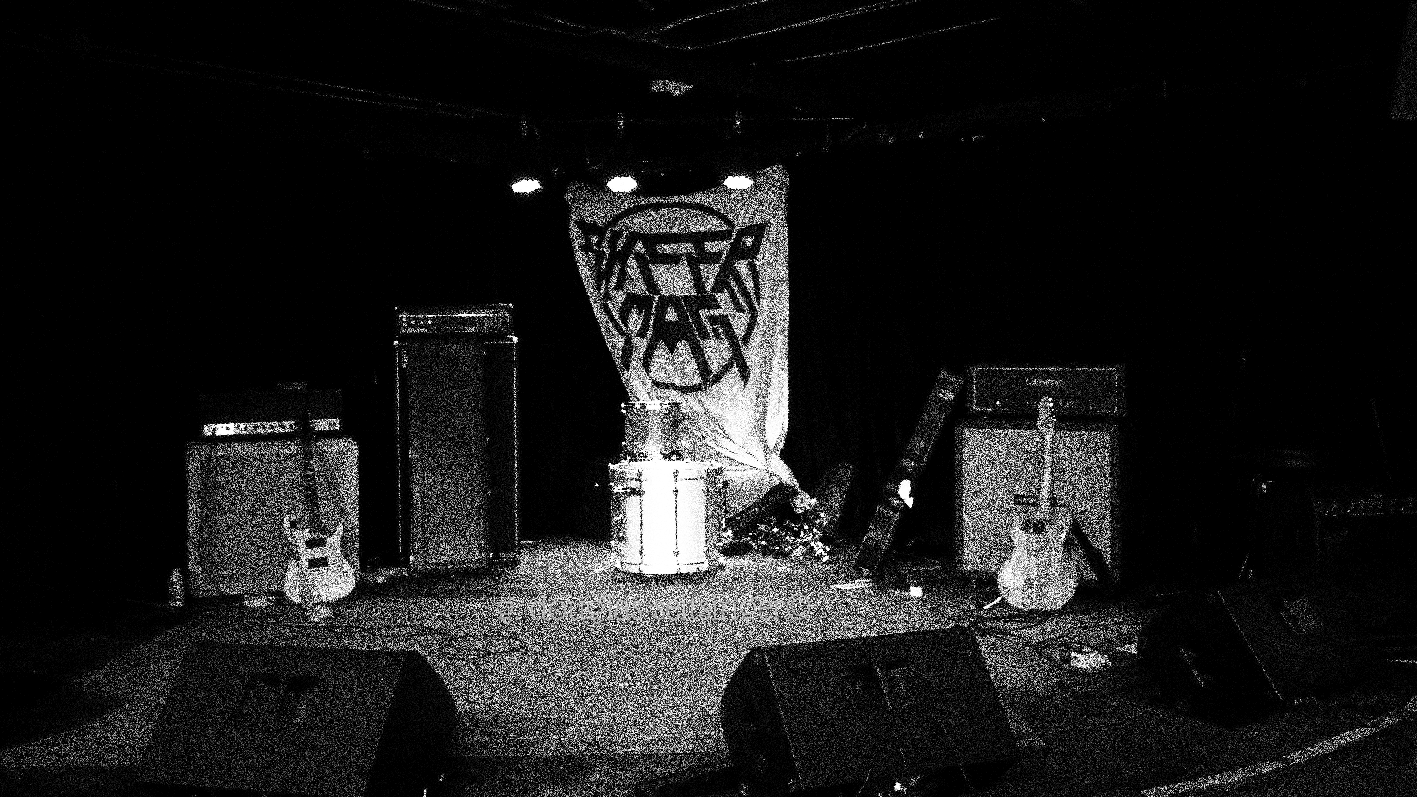 Sheer Mag stage after show_ Las Vegas '16