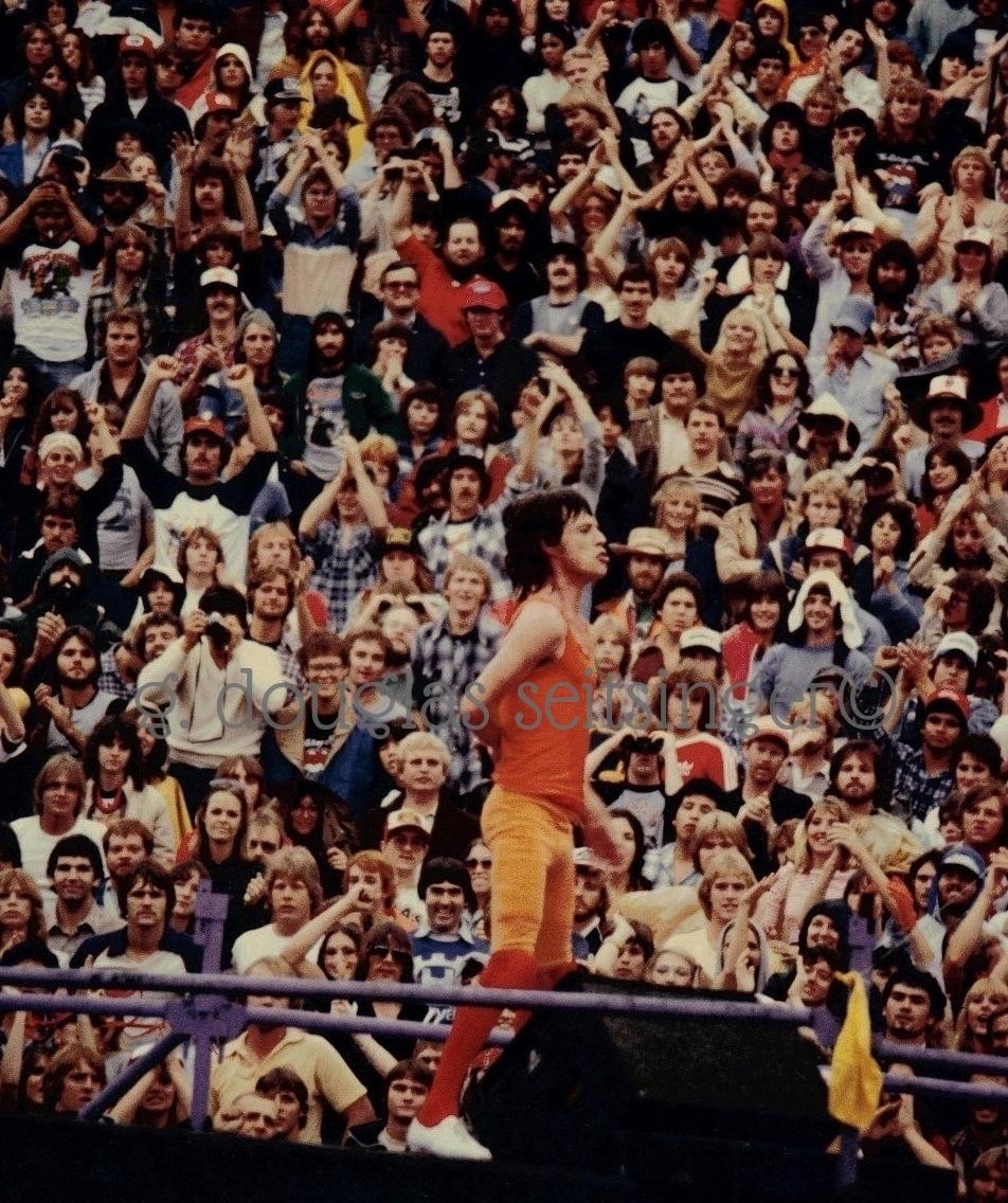 Mick Jagger_Dallas '81