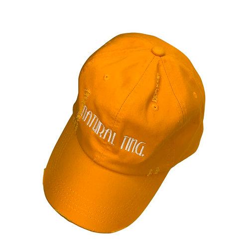 Natural Ting' Distressed Dad Hat