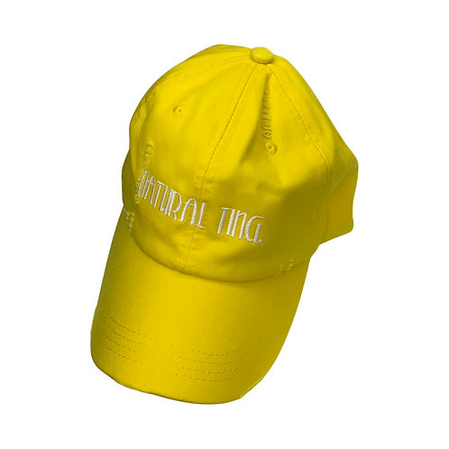 'Natural Ting' Distressed Dad Hat