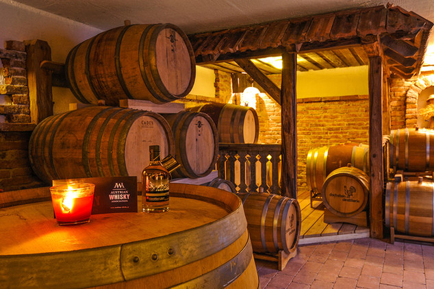 Whiskylager Dachstein Destillerie