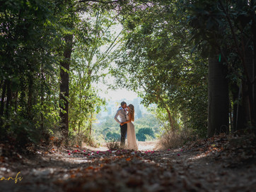 A wedding at a private property in the center of israel
