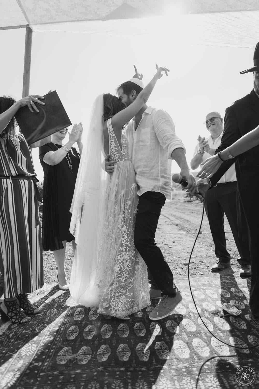 בבקה הפקות חתונה בטבע - חתונה בכרם בנימינה