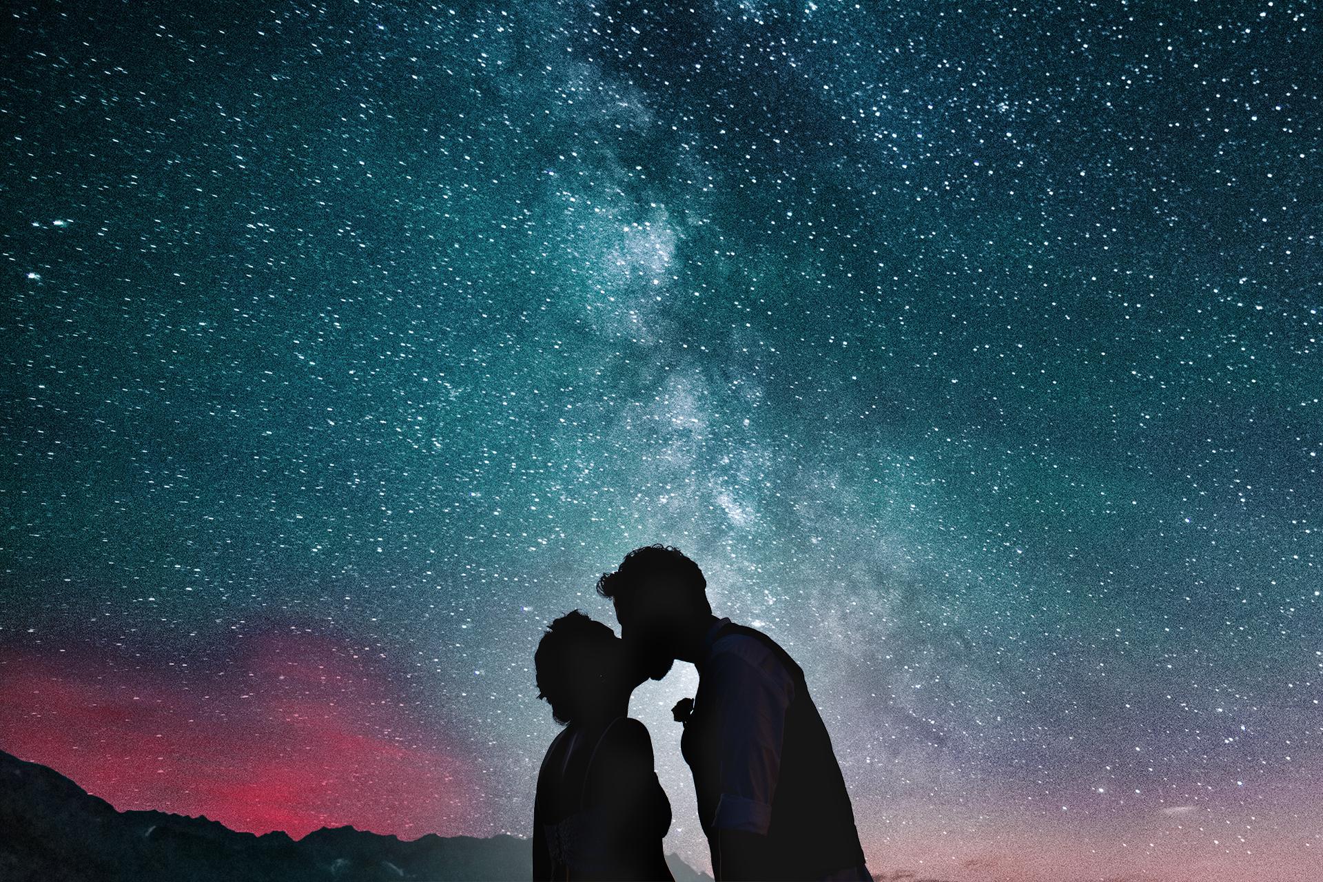 צילומי חתונה מיוחדים - תמונות חתונה אל מול הכוכבים, תמונות חתונה בשקיעה