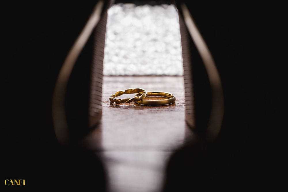 Wedding rings in a jewish wedding ceremony, picture taken by Idan Canfi