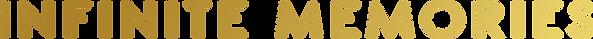 Logo INFINITE MEMORIES FINAL BLACK BACKG