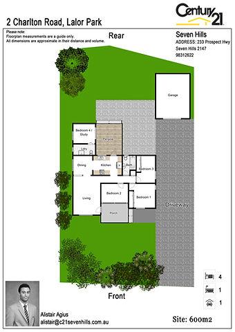 real estate floorplan template