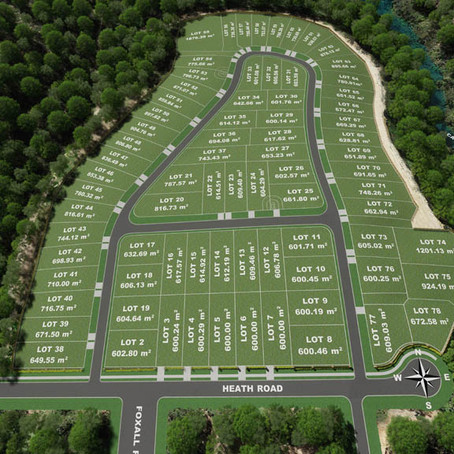 Residential Development Aerial Photos