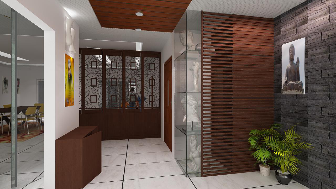 Modern 3D rendering for Interiors