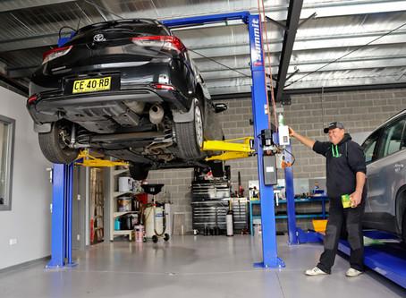 Bradbury Automotive New Workshop