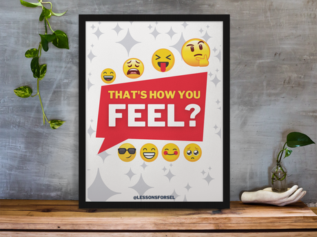 Joyful Feels Digital Poster