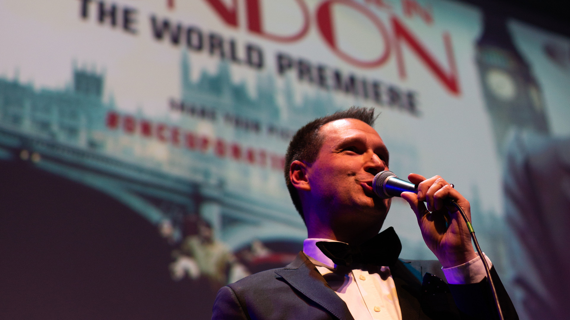 Once Upon A Time In London - World Premiere - Danny Litchfield