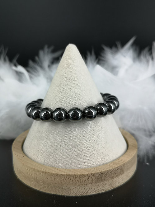 Bracelet hematite 10mm