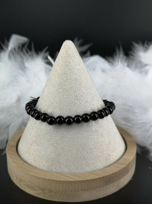 Bracelet Onyx 6mm