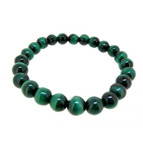 Bracelet Malachite 8 mm