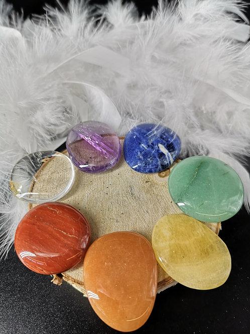 7 pierres de chakras