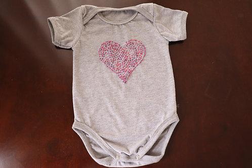 Roupinha de Bebê CORAÇÃO