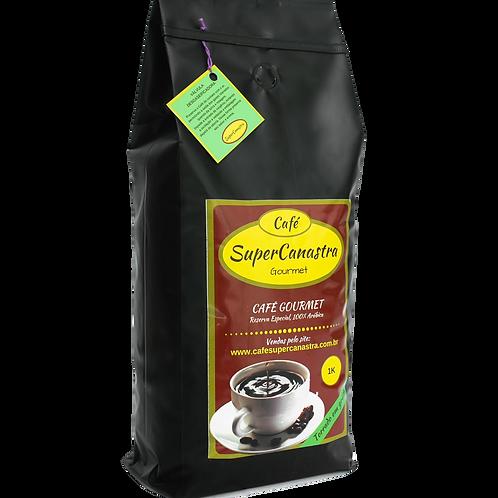 Café SuperCanastra Gourmet 1k em grãos