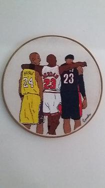 Quadro de Bastidor MELHORES NBA