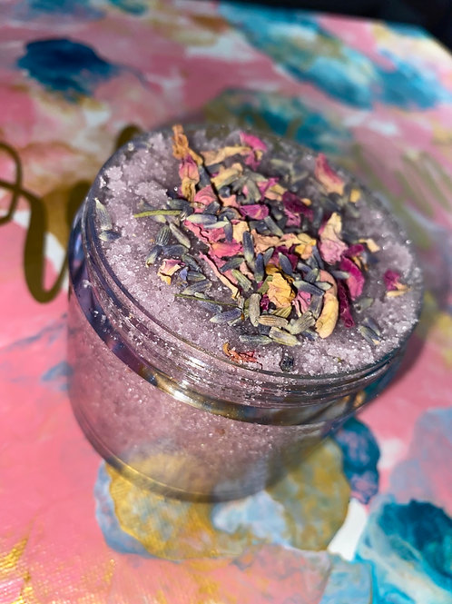 Lavender Rose Body Scrub 10oz