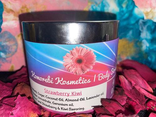 Strawberry Kiwi Body Scrub 4oz