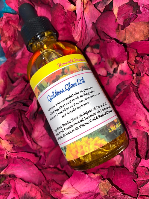 Goddess Glow Oil-Serum 2oz