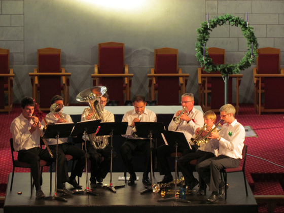 Christmas wind band