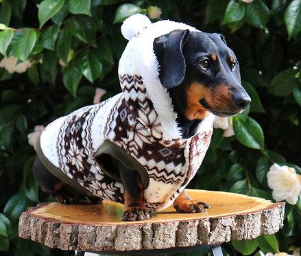 Pom Pom Dog Hoodie