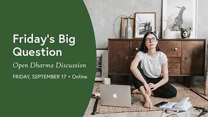 • Friday's Big Question - September
