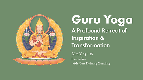 2021-05-15 to 18 LS - Guru Yoga Retreat