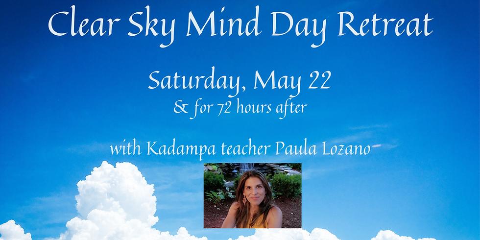 • Clear Sky Mind Day Retreat