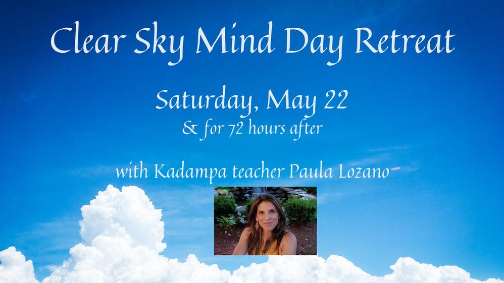 Clear Sky Mind Day Retreat