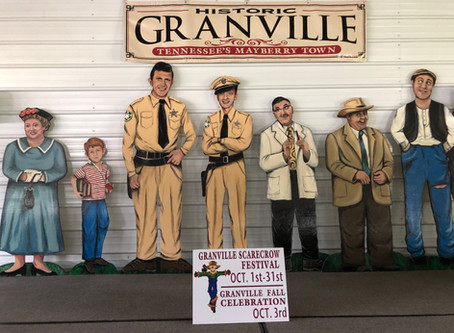 Historic Granville Tennessee's Mayberry Town Scarecrows Have Arrived!