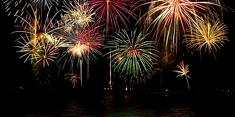 Fireworks on the Cumberland