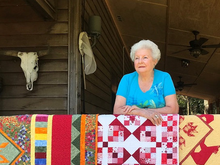 Granville Quilt Festival Honors Barbara Martinez of Wilson County at the 2021 Show