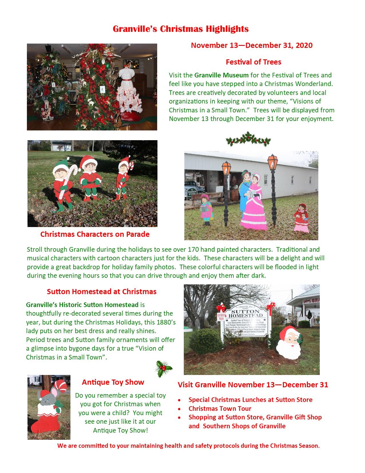 Sutton Christmas Parade 2020 CHRISTMAS HIGHLIGHTS 2020 | Granville, TN