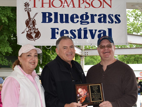 Uncle Jimmy Thompson Bluegrass Award for 2021