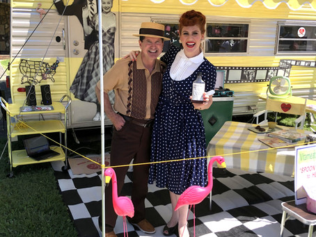 Jeff & Carrie Ketterman, Desi & Lucy impersonators, will perform in Granville on April 10th