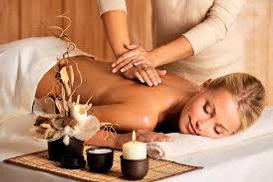 Massage huile BIO  Californien 60MINUTES