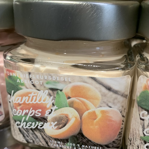 Chantilly abricots 50gr
