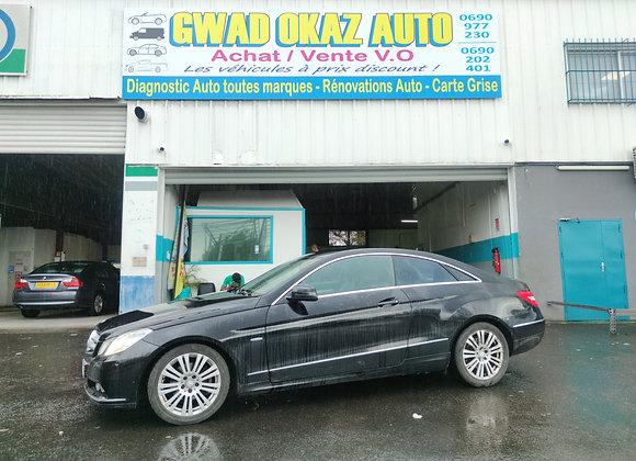 Mercedes Classe E coupe 220 CDI Bluefficiency